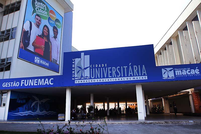 Cidade Universitária Macaé  fachada